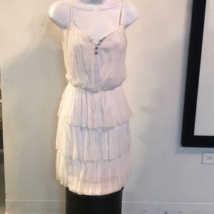 Dresses & Skirts - Spaghetti strap white dresss
